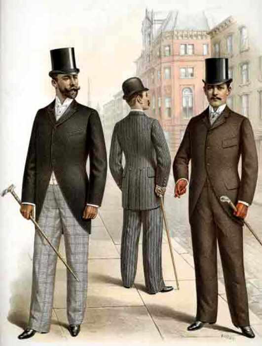 Лондонские денди должны были доплачивать для ношения шляпы. \Фото: redliners.ru
