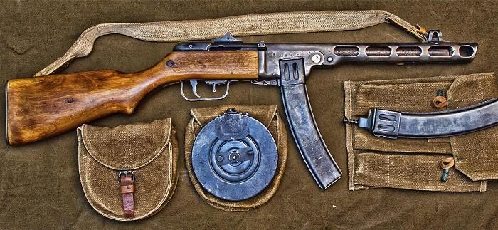 Самый популярный пистолет-пулемет в Красной армии. /Фото: kuban24.tv