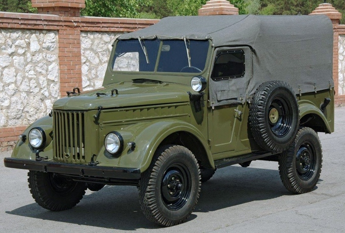 Оказывается, ГАЗ-69 выпускался в Ульяновске. /Фото: wroom.ru