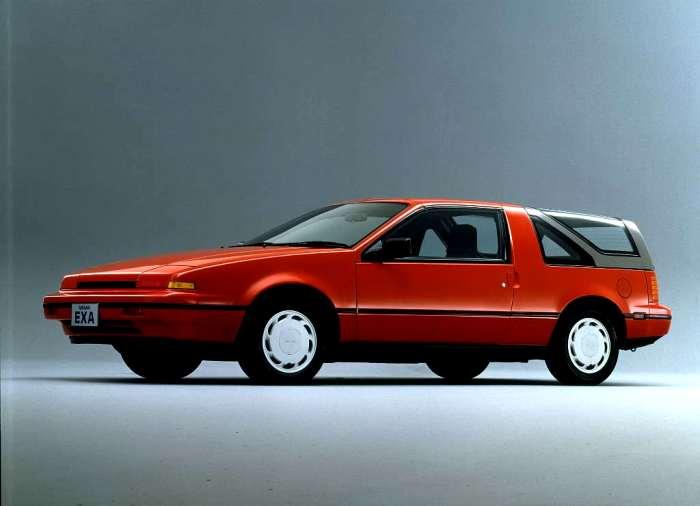 Одна из самых необычных моделей 1980-х. /Фото: autorevue.cz