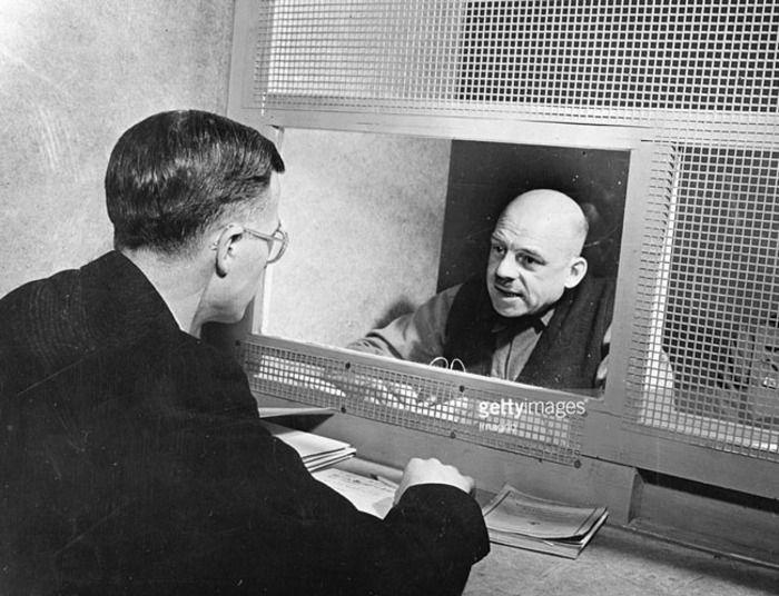 Заукель во время суда в Нюрнберге. /Фото: persons.info