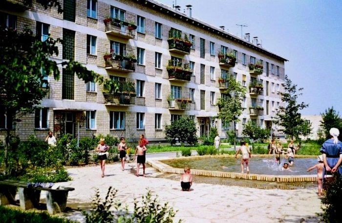 Первый советский панельный квартал, которых почти не было больше. /Фото: zaporizhzhia.city
