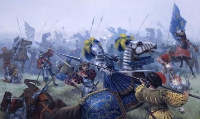 Баклеры помогали испанским воинам и в одной из самых известных битв Средневековья. /Фото: homsk.com
