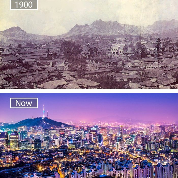 Южнокорейская столица сегодня прекрасна. /Фото: wp.com