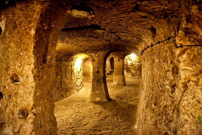 Пожалуй, самый масштабный подземный комплекс. /Фото: history.com