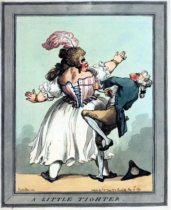 Корсет становился причиной многочисленных забавных эпизодов. /Фото: etsystatic.com