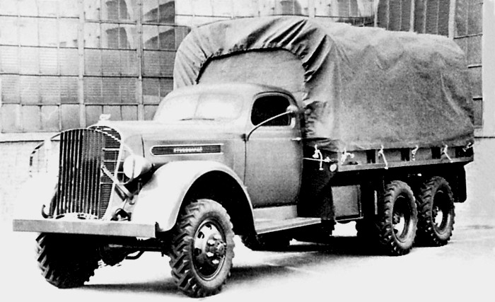 Studebaker K25S - праотец грузовика Победы. /Фото: kolesa-uploads.ru
