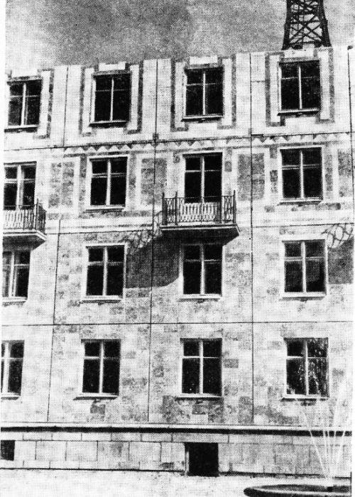 Ленинградский крупнопанельный дом на стадии строительства. /Фото: stroy-spravka.ru