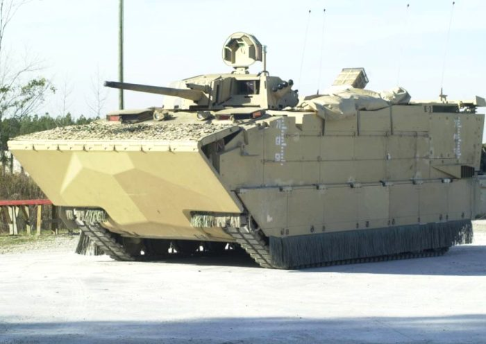 Боевая машина Expeditionary Fighting Vehicle. /Фото: naked-science.ru