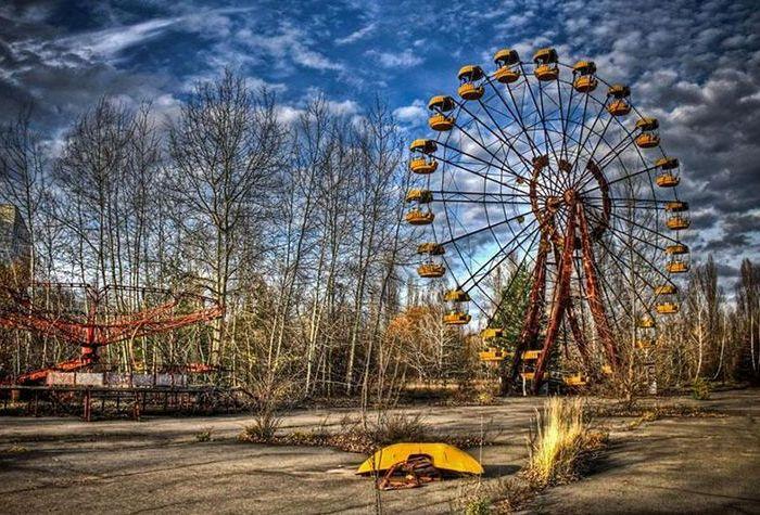 Знаменитый парк аттракционов Припяти, который так и не открылся. /Фото: kraina-ua.com