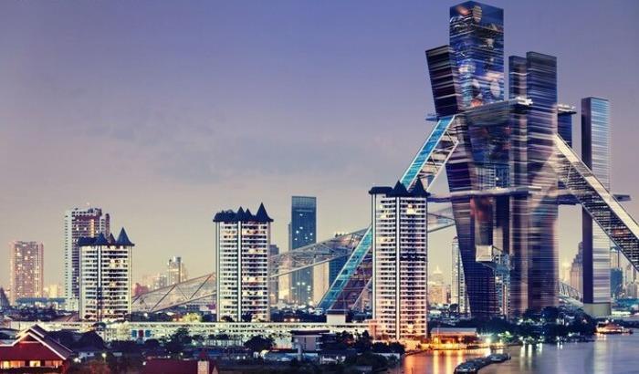 Четверть века назад такое здание могло появиться в Таиланде. /Фото: esquire.ru