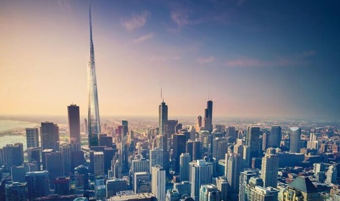 Это могло бы стать самое высокое здание США. /Фото: popmeсh.ru