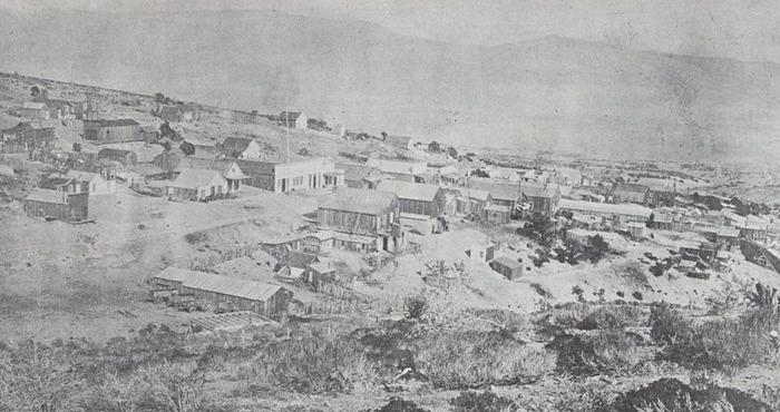 Город Уорд, ок. 1880 года. /Фото: westernmininghistory.com