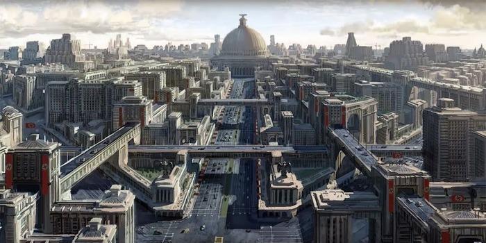 Берлин планировалось перестроить полностью. /Фото: vk.com