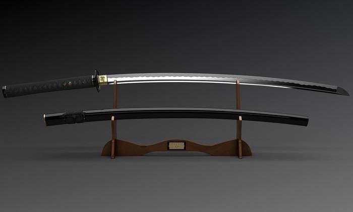 Легендарный меч японских самураев.  /Фото: pikabu.ru
