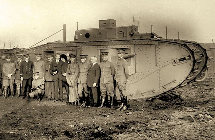 Mk VIII во время испытаний в США, 31 октября 1918 года. /Фото: smartage.pl