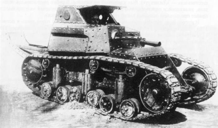 Сложности в создании Т-17 начались буквально сразу. /Фото: alternathistory.com