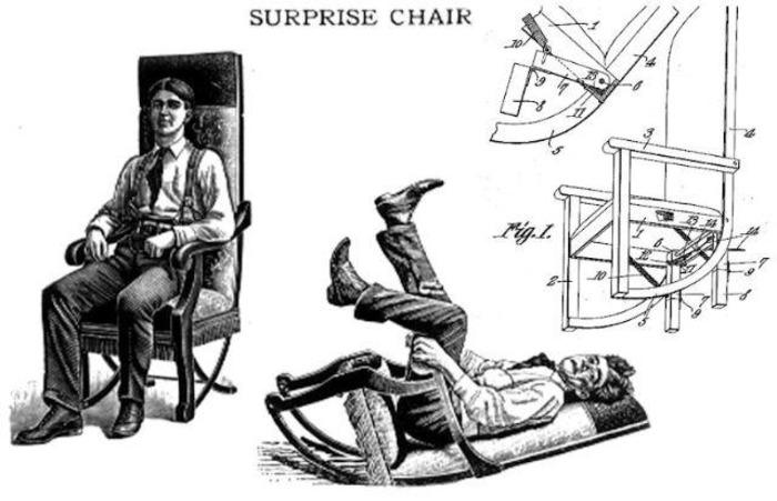 Кресло-качалка с сюрпризом. /Фото: bigpicture.ru