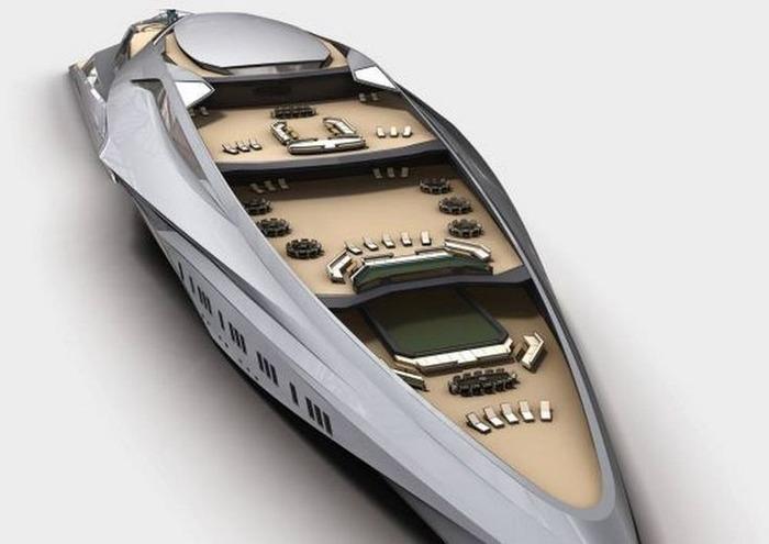 Предположительное размещение мест на палубе яхты. /Фото: pinterest.com
