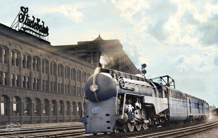 Популярнейший поезд западного мира. /Фото: american-rails.com