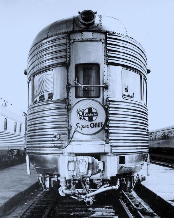 Один из первых вариантов знаменитого американского поезда. /Фото: pinterest.com