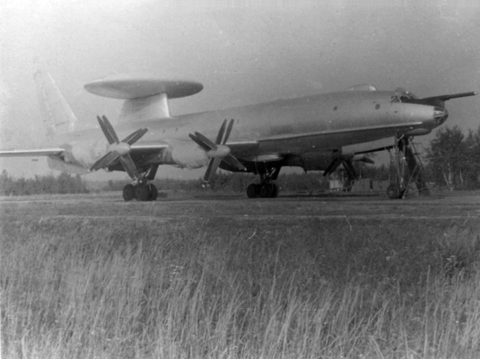 Ту-126 - первый советский самолет ДРЛО. /Фото: wikipedia.org
