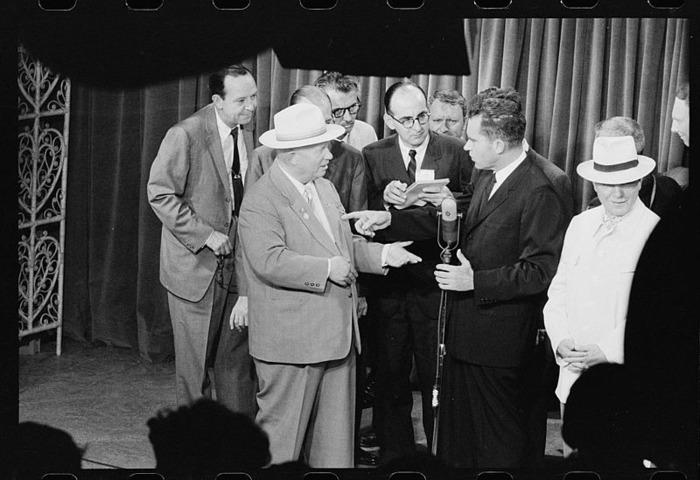 Дебаты Хрушёва и Никсона о кухне стали историей. /Фото: wikipedia.org