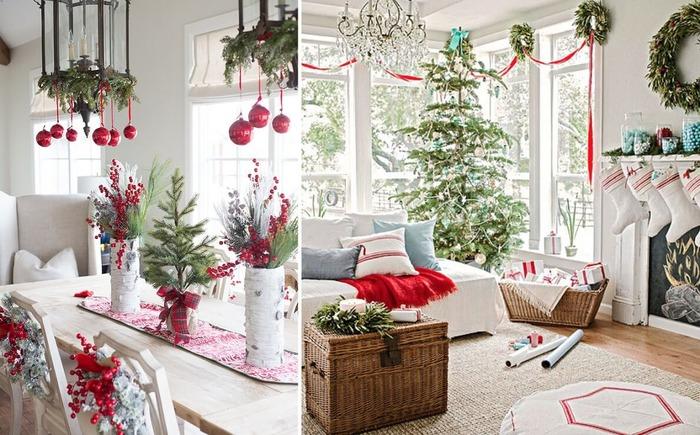 Раньше на тот же Новый год разве что ёлку украшали, а сегодня - весь дом. /Фото: lavandadecor.ru