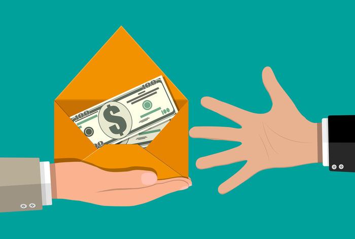 Чтобы получить деньги, ничего не нужно делать. /Фото: delatdelo.com