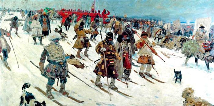 Военные на лыжи встали давно. /Фото: amruss.ru