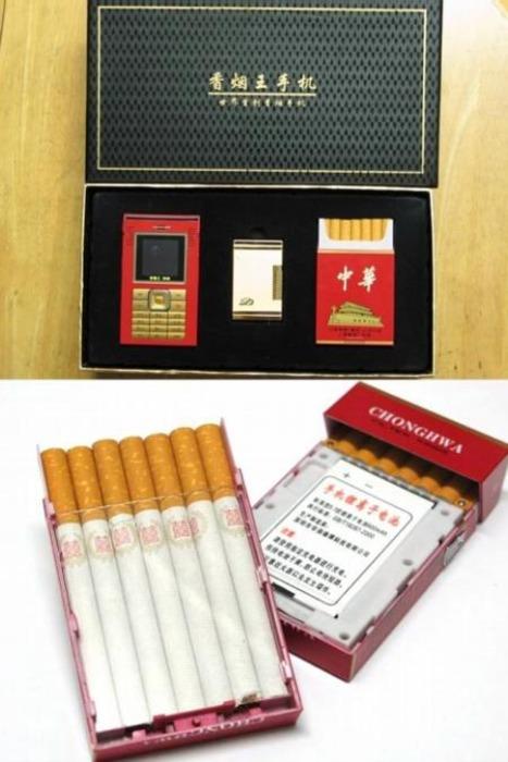 Телефон для курящих. /Фото: chine.in