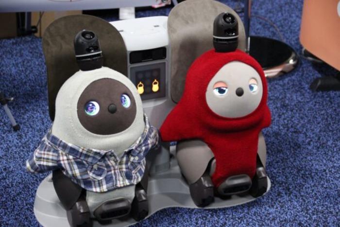 Дружелюбный и даже теплый робот - как настоящий питомец. /Фото: geekwire.com