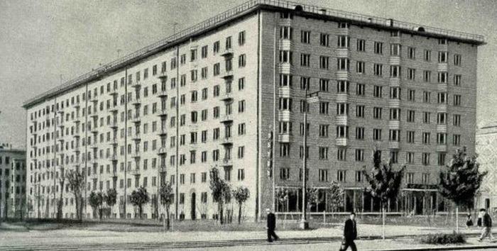 Дом серии СМ-3, конец 1950-х гг. /Фото: labrys.ru