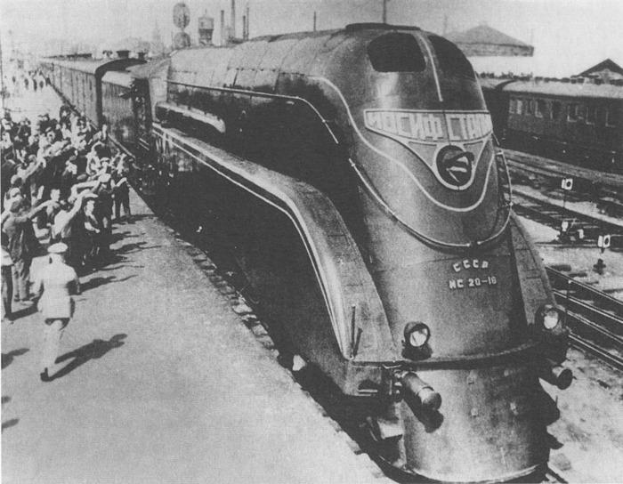 Ещё один оригинальный советский поезд. /Фото: wikipedia.org