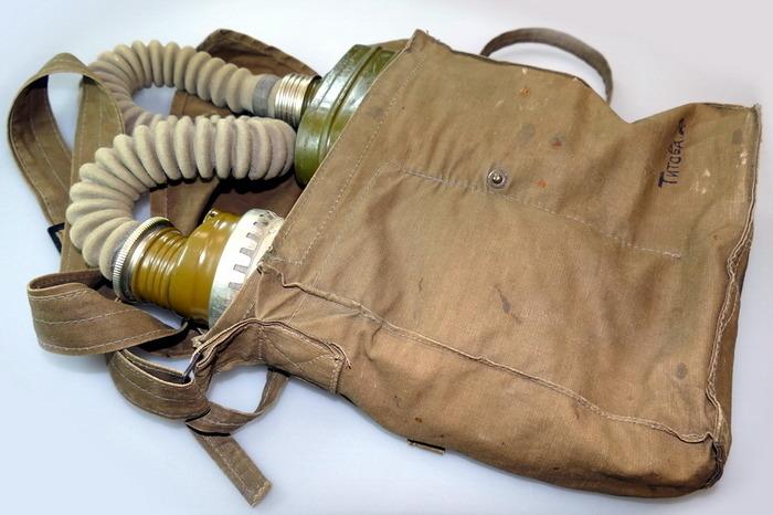 Противогазная сумка образца 1939 года. /Фото: forma-odezhda.ru