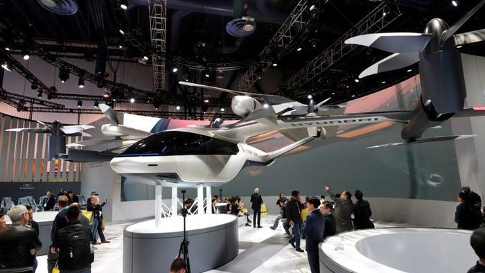 Воздушное такси - почти реальность.  /Фото: news.sky.com