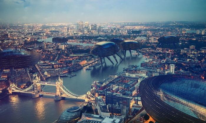 Целый город, который кочует по планете. /Фото: stroyday.ru