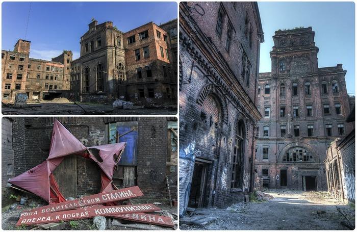 Настоящая заброшенная легенда Северной столицы. /Фото: fishki.net