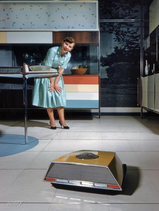 Один только робот-пылесос привёл советских людей в восторг. /Фото: reactor.cc