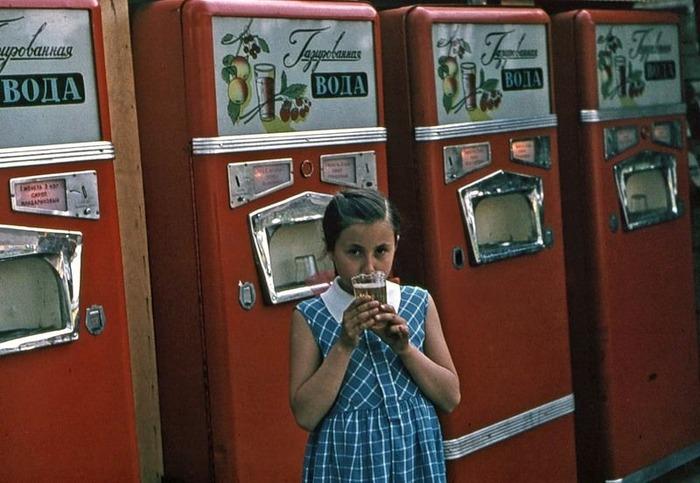 Автомат с газировкой - один из символов СССР. /Фото: russian7.ru