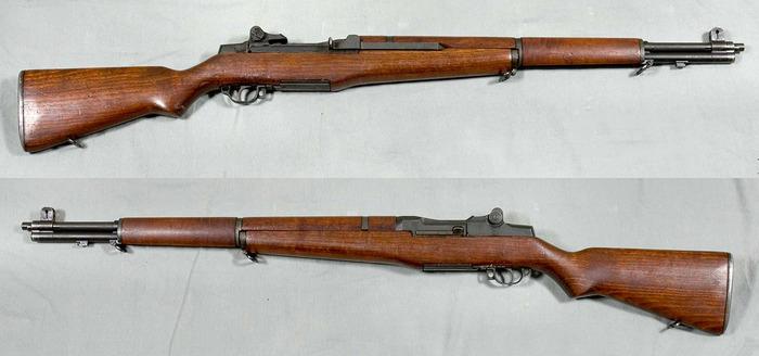 Самозарядная винтовка M1 Garand. /Фото: militaryarms.ru
