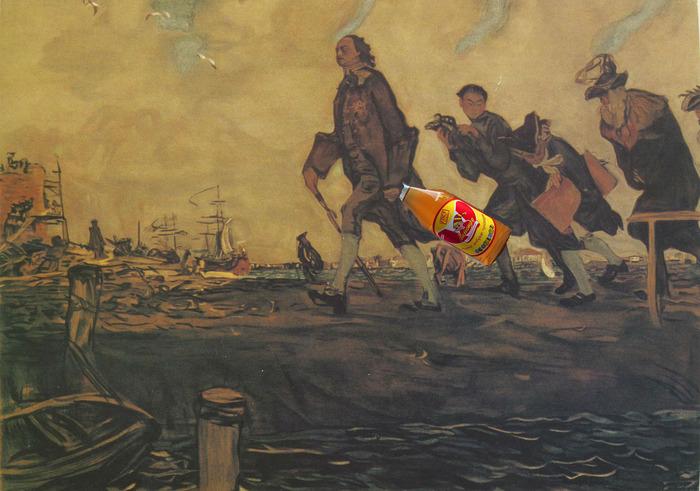 Петр Великий привез и популяризовал лимонад в России. /Фото: pikabu.ru