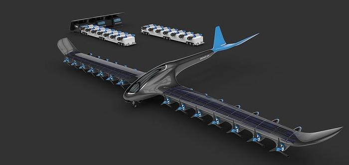 Самолёт нового поколения, который ещё только на стадии разработки. /Фото: naukatehnika.com