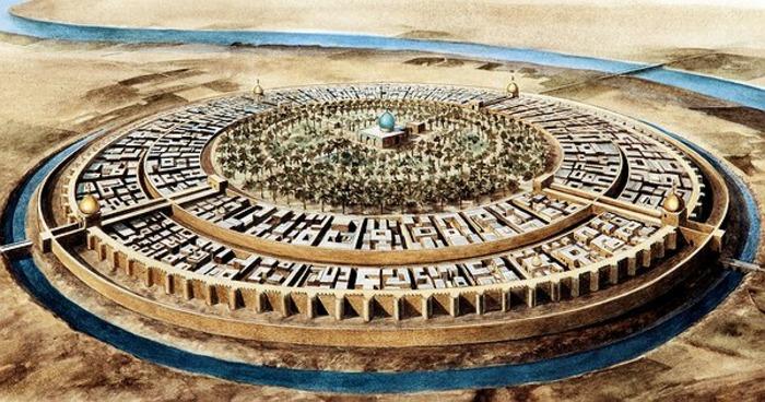 Реконструкция вида средневекового Багдада. /Фото: ihodl.com