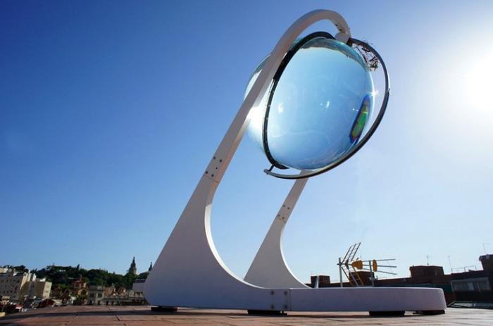 Пожалуй, самая необычная из солнечных батарей. /Фото: teknoblog.ru