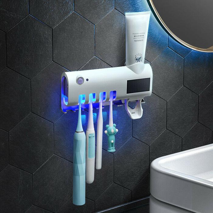 Ультрафиолет обеспечит безопасность зубной щётки.  /Фото: gearbest.com