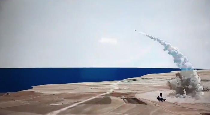 Запечатление поражения цели одной из бомб. /Фото: mail.ru