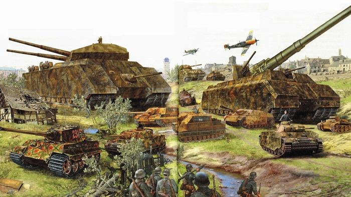 Военную технику надо банально заправлять, а топлива не хватало. /Фото: historyofyesterday.com