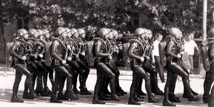 Отряд боевых водолазов успешно воевал с 1941 по 1945 года. /Фото: svs-gru.ru