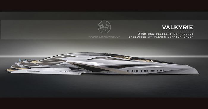 Концепт яхты с презентации. /Фото: yachtoteka.ru